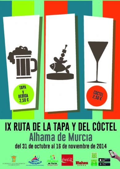 Llega la IX Ruta de la Tapa del 31 de octubre al 16 de noviembre edición que se podrá seguir y participar a través de Rutappa, una aplicación gratuita para móvil