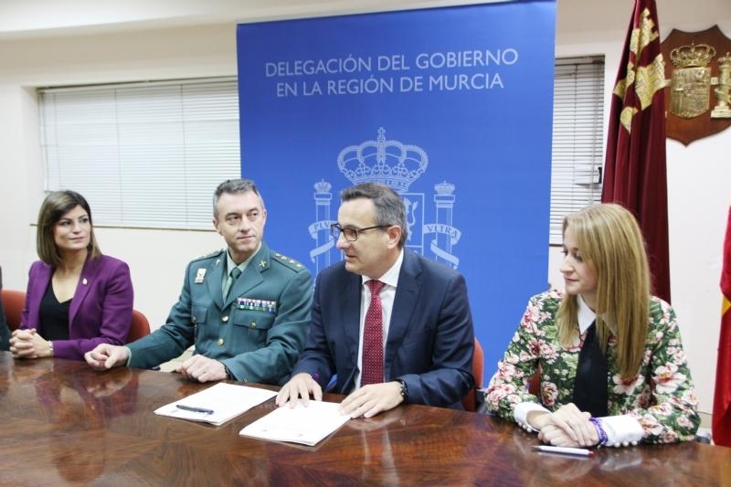 Alhama y Santomera, primeros en la Región en adherirse al sistema VioGén contra la violencia machista
