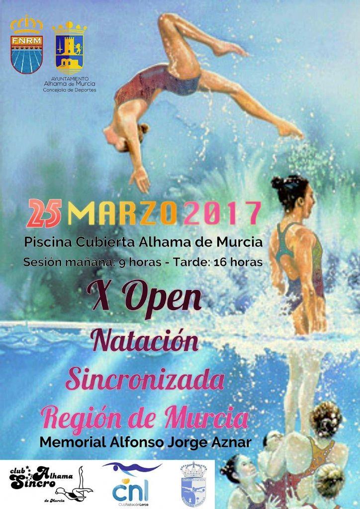 X Open Regional de Natación Sincronizada en Alhama de Murcia