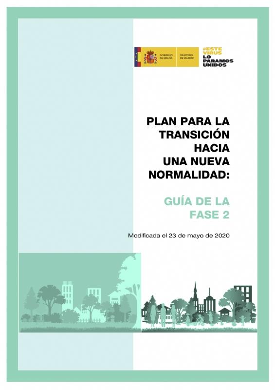 Plan para la transición hacia una nueva normalidad: guía de la fase 2