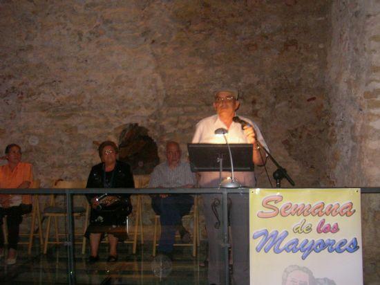 Alfonso Luque Díaz, ganador del Concurso de Poesía de la XVI Semana de los Mayores