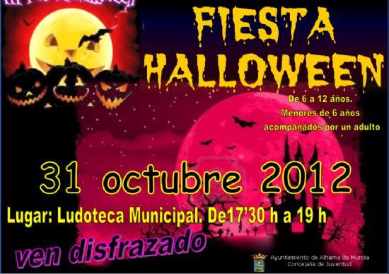 El próximo 31 de octubre fiesta de Hallowen