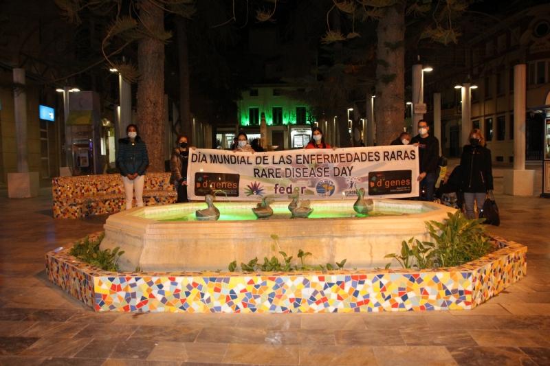 D´Genes y el Ayuntamiento de Alhama conmemoran el Día Mundial de las Enfermedades Raras 2021