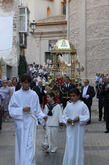 Los niños de Alhama celebran el Corpus Cristi
