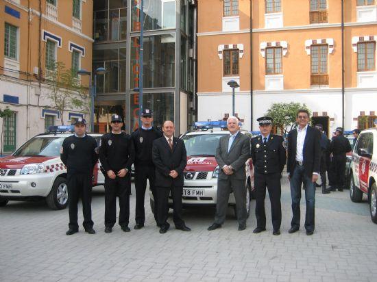 La Unidad Especial de Seguridad de Alhama cuenta con un nuevo vehículo