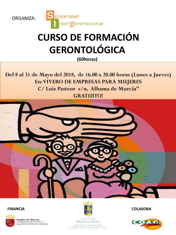 Curso de formación gerontológica