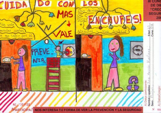 """Se entregan los premios del Concurso de Dibujo de la Campaña """"Crece en Seguridad"""""""
