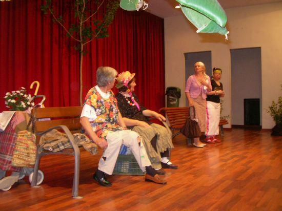 El teatro también ha estado presente en la Semana de los Mayores 2008