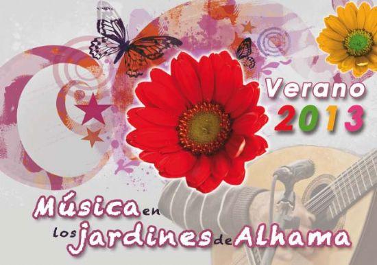 """El próximo miércoles comienza """"Música en los Jardines de Alhama"""""""