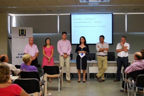 Un año más, Alhama acoge el curso de la Universidad del Mar sobre las aguas termales