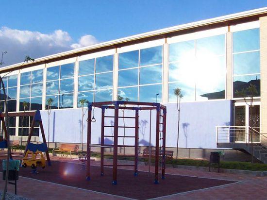 Piscina municipal cubierta