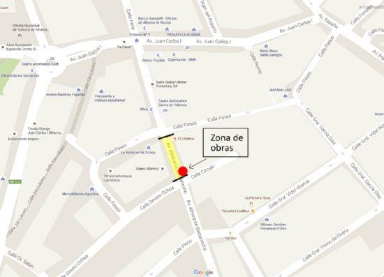 AVISO: Obras en Avenida Bastarreche
