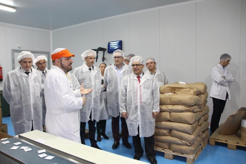 El consejo de administración de Industrialhama visita la empresa MixPak System