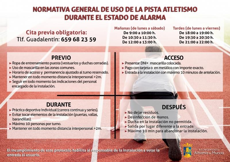 Novedades en las instalaciones deportivas a partir del 1 de junio