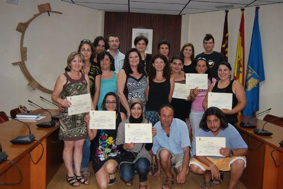 Doce alumnos reciben los diplomas del II Curso de Habilidades Sociales