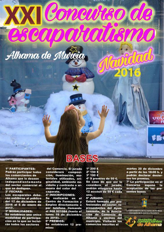 XXI Concurso de Escaparatismo | Navidad 2016