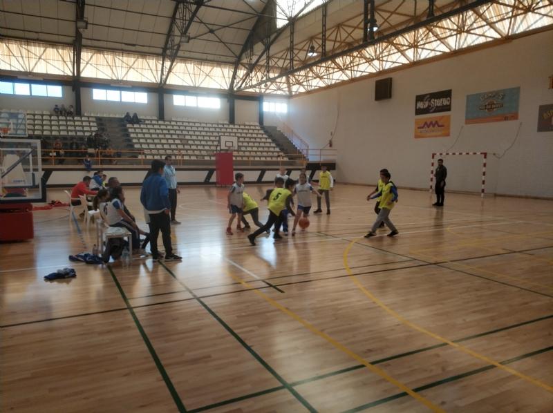 Resultados de la fase final local del Campeonato Alevín de Minibasket