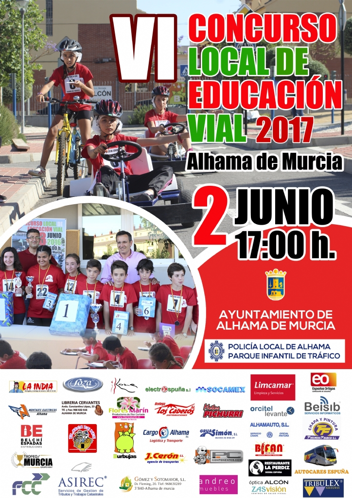 VI Concurso Local de Educación Vial de Alhama de Murcia