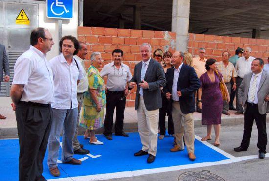 El presidente Valcárcel inaugura el Vivero de Empresas, nuevas dependencias que servirán para potenciar el empleo femenino