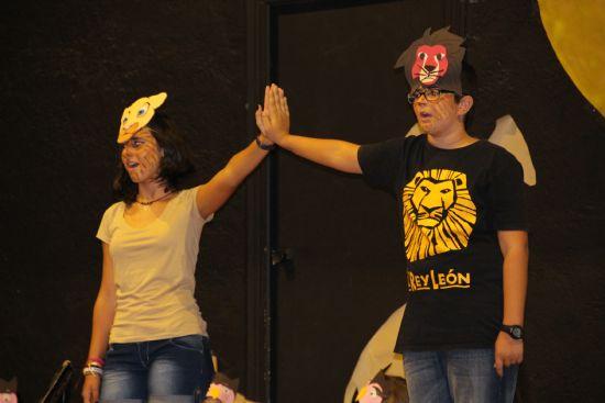 El Taller de Dinamización Social finaliza con la representación de 'El Rey León' en el Cine Velasco