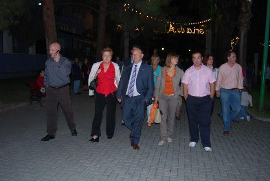 Comienzan las Fiesta Patronales 2008 con la inauguración del Recinto Ferial y el encendido de las luces