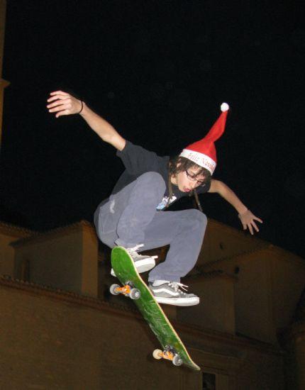 Los jóvenes fotografían la Navidad
