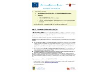 Boletín semanal del centro de empleo para jóvenes (01-10-2020)