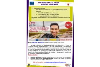 Boletín semanal del centro de empleo para jóvenes (03-06-2021)