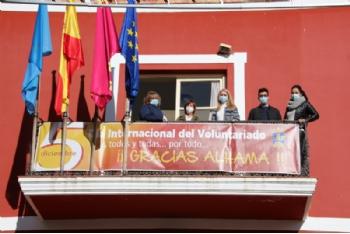 Alhama se suma a la celebración del Día Internacional del Voluntariado