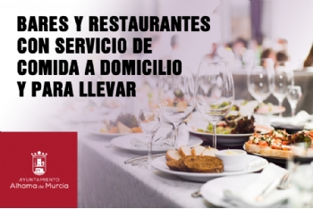 Consulta aquí los bares y restaurantes que ofrecen comida para llevar durante el nuevo estado alarma