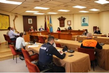 El CECOPAL se reúne para analizar las nuevas medidas restrictivas adoptadas por la Comunidad Autónoma