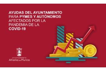 El Ayuntamiento concede otros 11.000 euros empresas y autónomos de Alhama