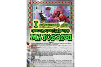 I concurso de escaparatismo Los Mayos 2021. Del 26 de abril al 9 de mayo.