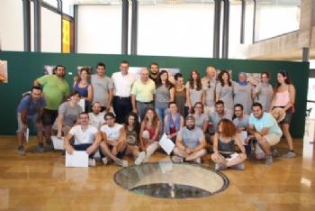 Entrega de diplomas voluntarios campo de trabajo yacimientos