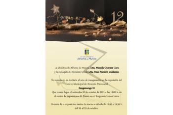 Presentación de las actividades y exposición del centro municipal de Atención Psicosocial Zangamanga 12