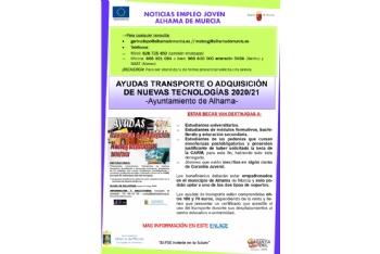 Boletín semanal del centro de empleo para jóvenes (09-04-2021)
