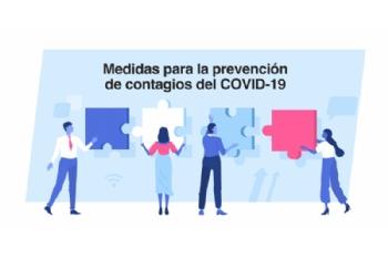 Medidas para la prevención de contagios de Covid-19 en los centros de trabajo