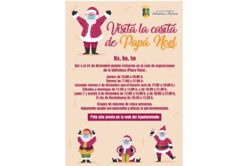 Papá Noel estará en su casita en la Plaza Vieja del 4 al 24 de diciembre