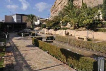 Jardín del Museo Arqueológico Los Baños
