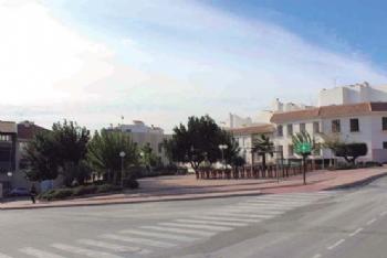 Jardín de la calle Simón García