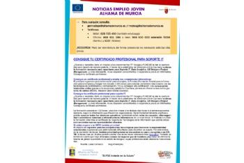 Boletín semanal del centro de empleo para jóvenes (12-05-2021)
