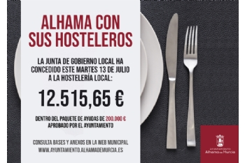 Seis nuevos negocios de hostelería reciben otros 12.500 euros de ayudas municipales