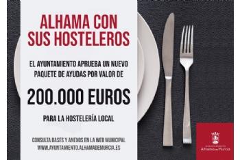 Presentación nuevas ayudas para hostelería por valor de 200.000 euros