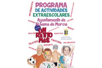 Abierto el plazo de inscripción para el programa de actividades ´Un ratito más´ 2021-2022