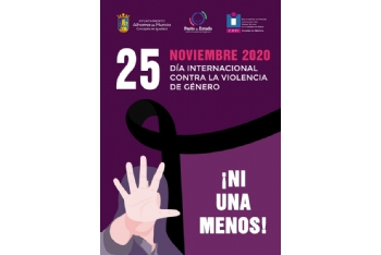Presentación actividades 25N, Día Internacional de la Eliminación de la Violencia contra la Mujer 2020