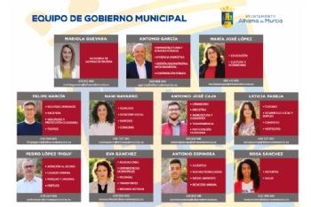Así queda el nuevo equipo de Gobierno municipal tras la delegación de competencias