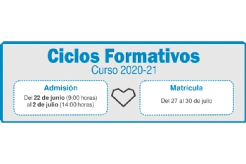 El 22 de junio se abre el plazo de preinscripción en ciclos formativos del IES Miguel Hernández