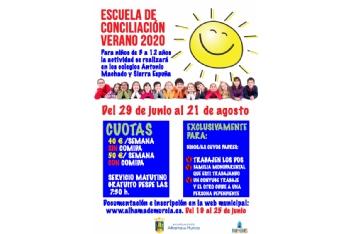 Abierto el plazo de inscripción en la Escuela de Conciliación Verano 2020