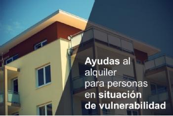 Abierto el plazo de solicitud de ayudas de alquiler para colectivos especialmente vulnerables