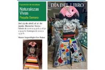 Inauguración de la exposición de escultura 'Naturalezas vivas' de Paquita Serrano